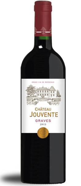 Château Jouvente - graves - Rouge - 2015