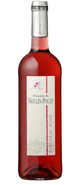 DOMAINE DE MOULIN-POUZY - classique demi-sec - Rosé - 2019