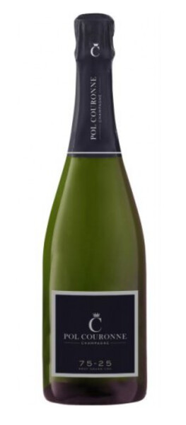CHAMPAGNE POL COURONNE - brut 75-25 grand cru - Pétillant