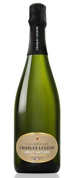 Champagne Charles Legend - cuvée brut nature - Pétillant