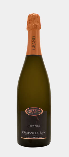 Domaine Grand - crémant du jura brut prestige - Pétillant