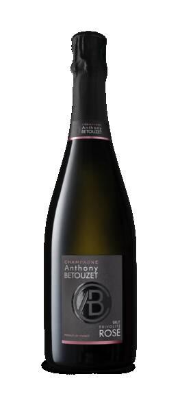 Champagne Anthony BETOUZET - brut rosé frivolité x emilie de castro - Pétillant