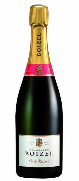 Champagne Boizel - brut réserve - Blanc
