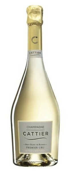 Champagne CATTIER - brut  de blancs premier cru - Blanc