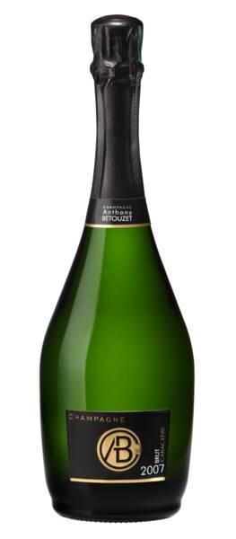Champagne Anthony BETOUZET - brut caractère - Pétillant - 2007