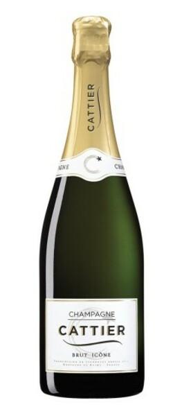 Champagne CATTIER - brut icône - Pétillant