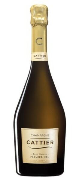Champagne CATTIER - brut nature 1er cru - Blanc