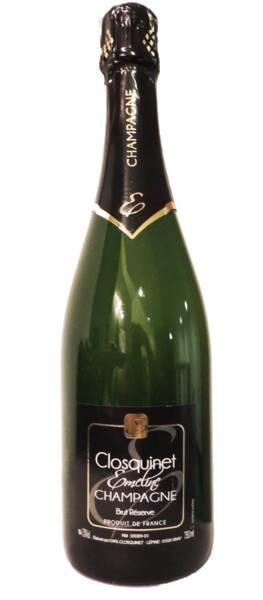 Champagne Emeline Closquinet - Brut Réserve - Pétillant