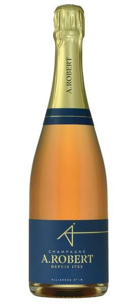 Champagne A. Robert - champagne a. robert rosé - Rosé