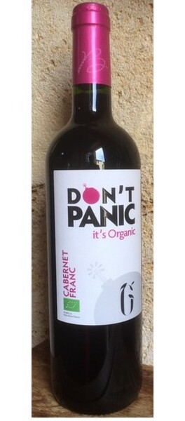 La Grangère - don't panic it's organic cabernet franc - Rouge - 2018