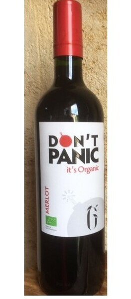 La Grangère - don't panic it's organic merlot - Rouge - 2018