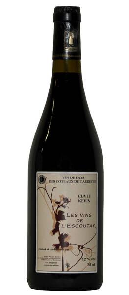 Les Vins de l'Escoutay - cuvée kevin - Rouge