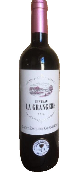 La Grangère - château - Rouge - 2015