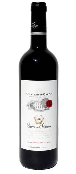 Chateau du Garde - cuvée des séniors - Rouge - 2014