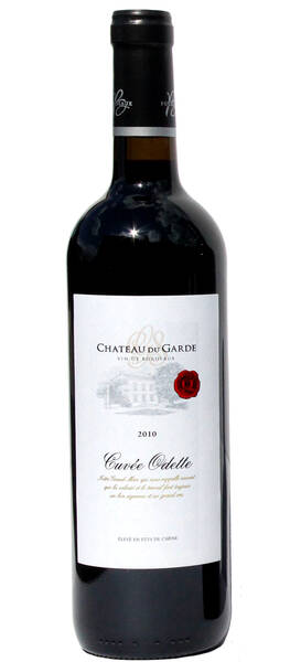 Chateau du Garde - cuvée odette - Rouge - 2010