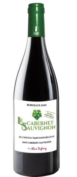Château Marchand Bellevue - le cabernet sauvignon sans sulfite ajouté - Rouge - 2020