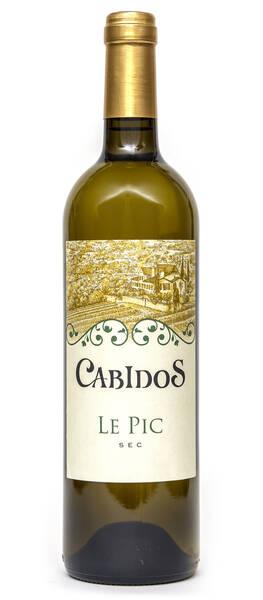 Domaine Viticole du Château de Cabidos - le pic - Blanc - 2016