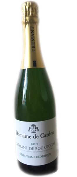 Domaine de Cardon - crémant de bourgogne  sélection frédérique brut - Pétillant