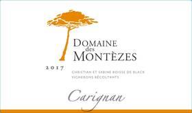 Domaine des Montèzes - carignan - Rouge - 2018