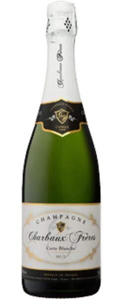 Champagne Charbaux Frères - carte blanche - Pétillant
