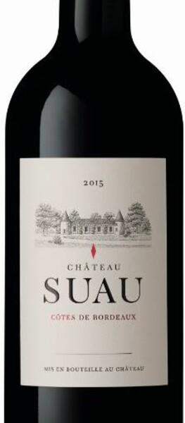 Château Suau - côtes de bordeaux - Rouge - 2015