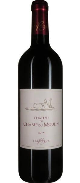 Château du Champ du Moulin - Bordeaux - Rouge - 2014