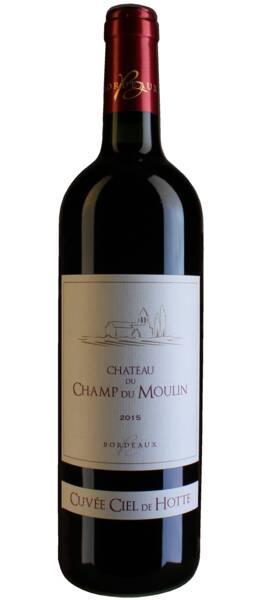 Château du Champ du Moulin - bordeaux  – cuvée ciel de hotte - Rouge - 2015