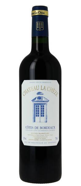Château La Chèze - château la chèze rouge - Rouge - 2017