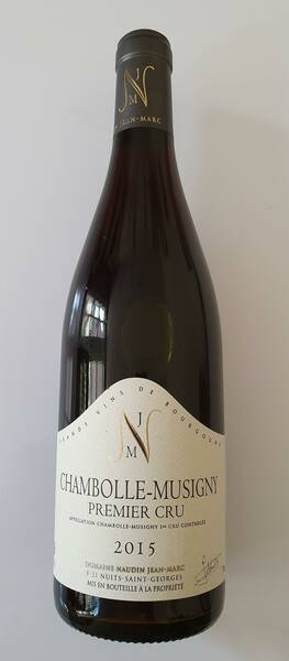 Domaine Jean-Marc Naudin - chambolle musigny 1er cru - Rouge - 2015