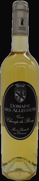 Domaine des Allegrets - champ du bourg - Liquoreux - 2017