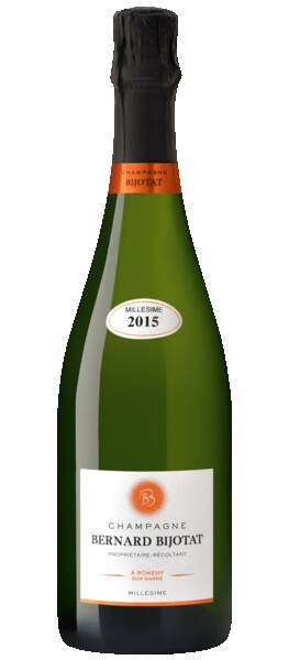 Champagne Bernard Bijotat - millésime - Blanc - 2015