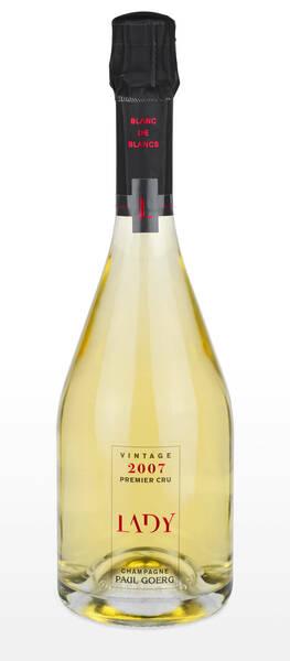 Champagne Goerg - paul  - cuvée lady vintage - Pétillant - 2007