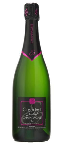 Champagne Emeline Closquinet - brut - Pétillant
