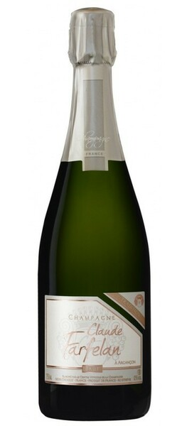 Champagne Claude Farfelan - Brut Tradition médaille or