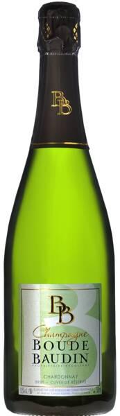 Champagne Boude-Baudin - chardonnay - Pétillant