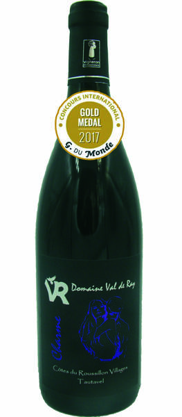 Domaine Val de Ray - charme - Rouge - 2014