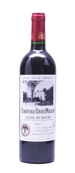 Château Gros Moulin - Côtes de Bourg 2014