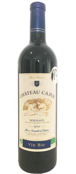 Château Cajus - bordeaux cuvée tradition  bio - Rouge - 2019