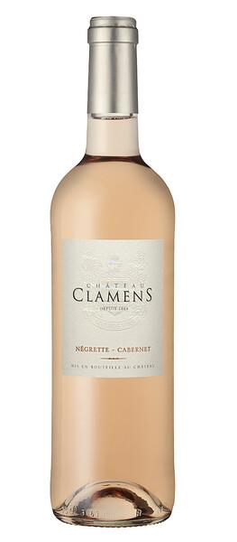 Château Clamens - château clamens rosé - Rosé - 2019