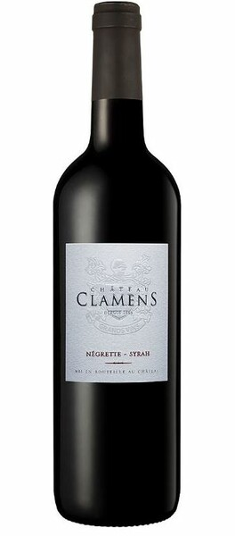 Château Clamens - château clamens rouge - Rouge - 2018