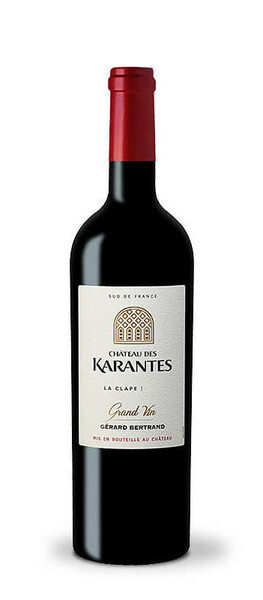 Château l'Hospitalet - des karantes grand vin   gérard bertrand - Rouge - 2017