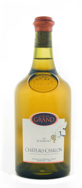 Domaine Grand - vin jaune château chalon en beaumont - Blanc - 2012