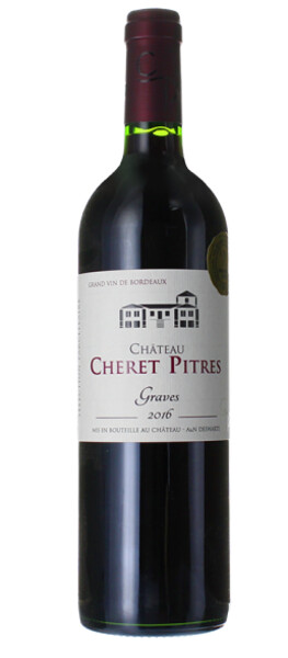 Chateau Cheret Pitres - graves  sélection parcellaire - Rouge - 2016
