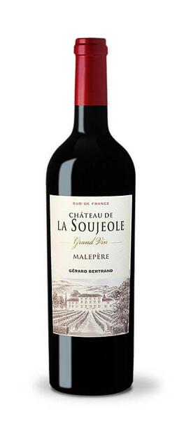 Château l'Hospitalet - la soujeole grand vin  malepere  gerard bertrand - Rouge - 2017