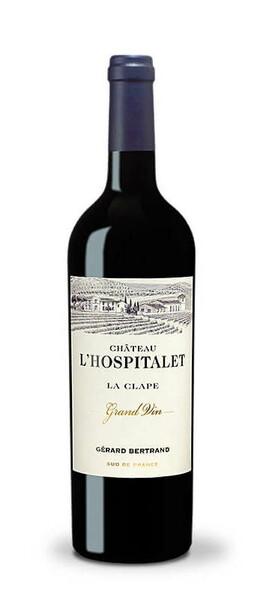 Château l'Hospitalet - grand vin  la clape  gerard bertrand - Rouge - 2019