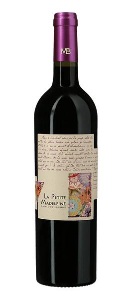 Château magdeleine Bouhou - la petite madeleine 100% malbec - sans soufre ajouté - Rouge - 2018
