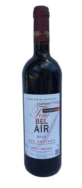 Château Tour Bel Air - passion - Rouge - 2016