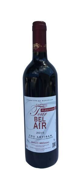 Château Tour Bel Air - plénitude - Rouge - 2017