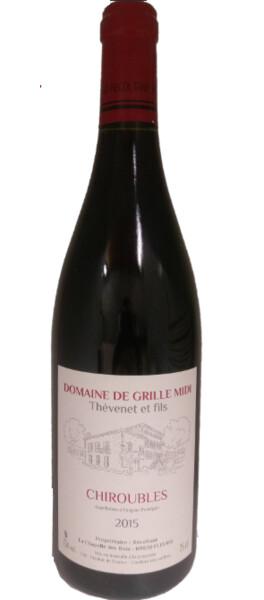 Domaine de Grille-Midi - chiroubles - Rouge - 2015