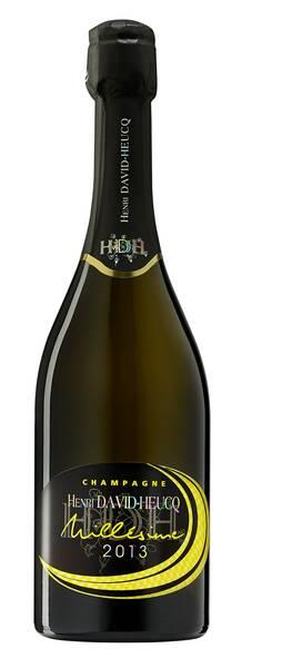 Champagne H. David Heucq - millésime - Pétillant - 2013